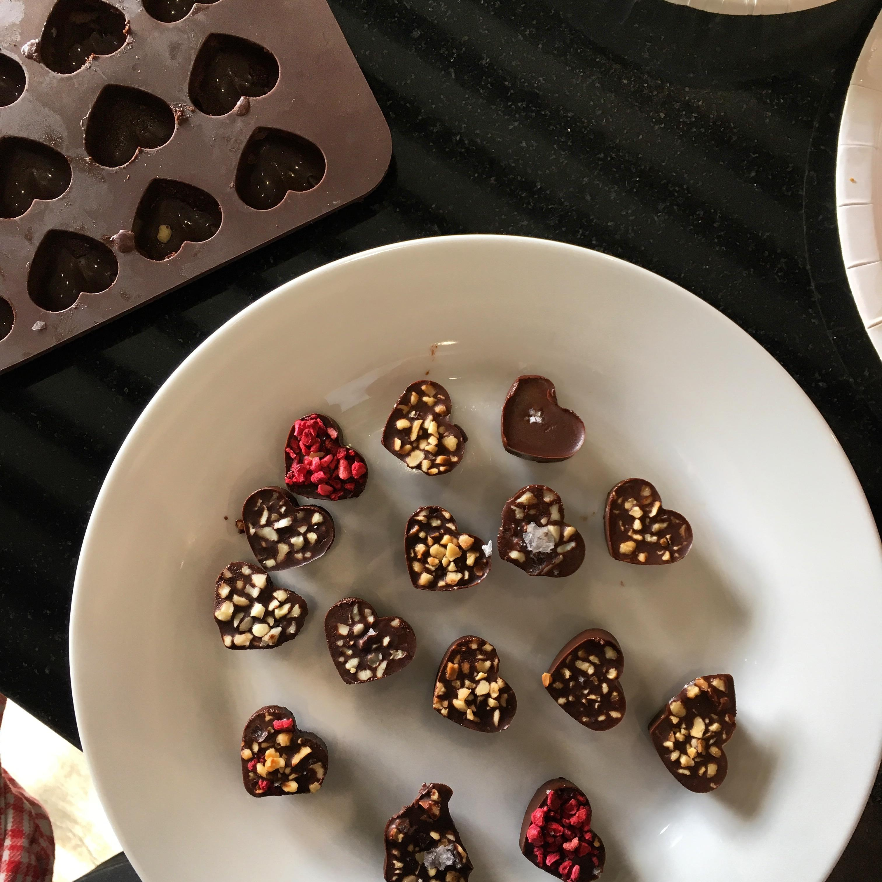 Edible Christmas presents workshop