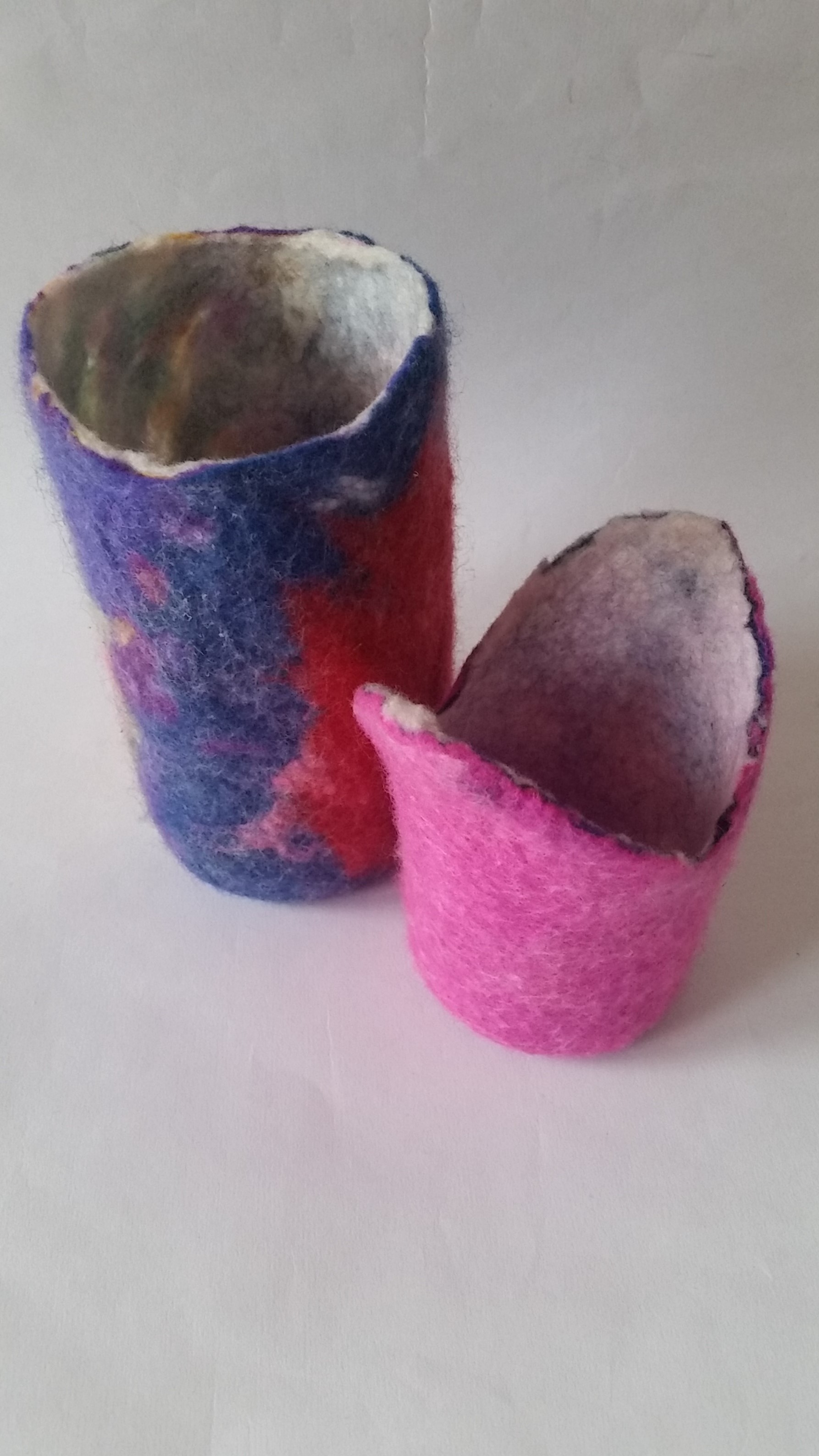 felting containers